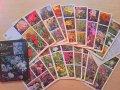 ロシア  植物カード  18枚セット  1987年