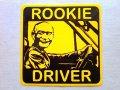 台湾  ステッカー  ROOKIE DRIVER