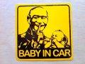 台湾  ステッカー  BABY IN CAR