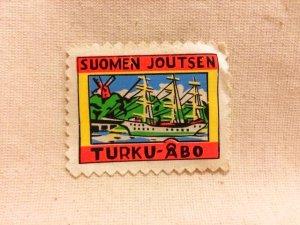 画像1: フィンランド トゥルク   ワッペン TURKU