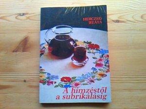 画像1: 【SALE】   ハンガリー  刺しゅう本(HERCZEG BEATA)   1988年